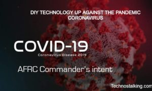 DIY TECHNOLOGY UP AGAINST THE PANDEMIC CORONAVIRUS