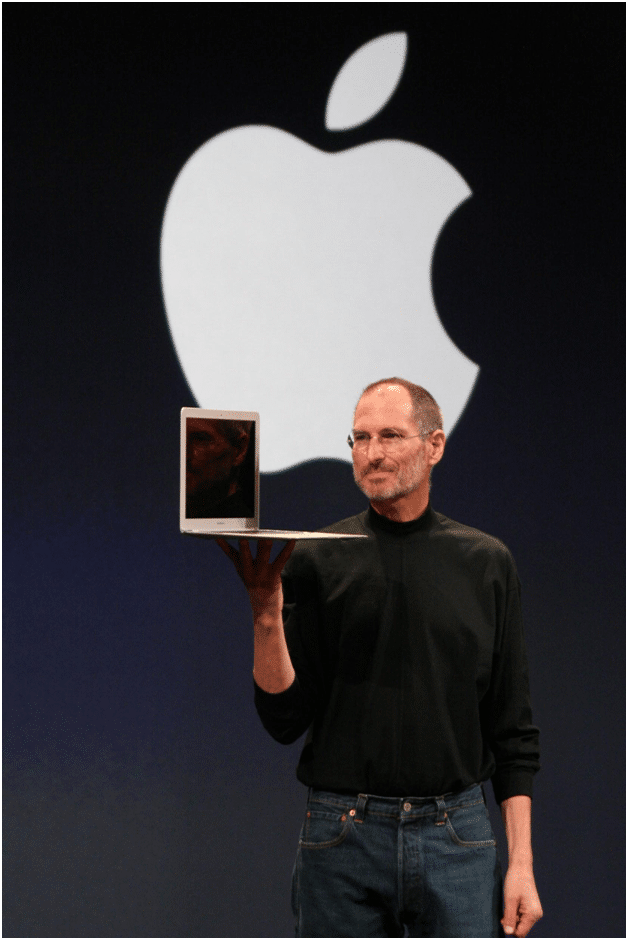 How did Steve jobs become a business magnate?