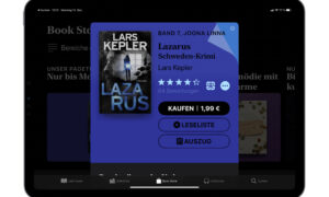 """The e-book of the week: """"Lazarus"""" for € 1.99"""