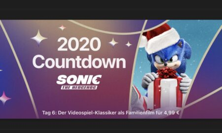 """Nicholas on 2020 Countdown: Today """"Sonic: The Hedgehog"""" for 4.99 €"""