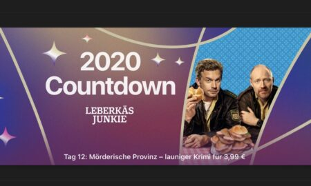 """Day 12 in the 2020 countdown: Today """"Leberkäsjunkie"""" for € 3.99"""