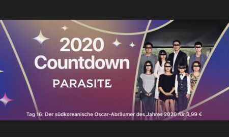 """Day 16 in the 2020 countdown on iTunes: """"Parasite"""" for € 3.99"""