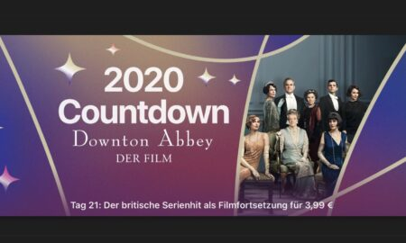 """Day 21 in the 2020 countdown """"Downton Abbey - the movie"""" for € 3.99"""
