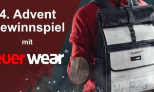 "Competition for the 4th Advent: Feuerwear ""Eddie"" rolltop backpack"