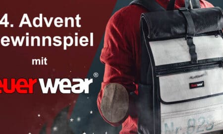 """Competition for the 4th Advent: Feuerwear """"Eddie"""" rolltop backpack"""