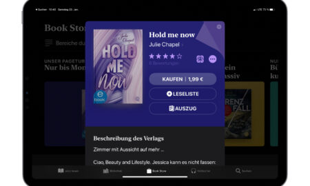 """Today """"Hold me now"""" for 1.99 €"""