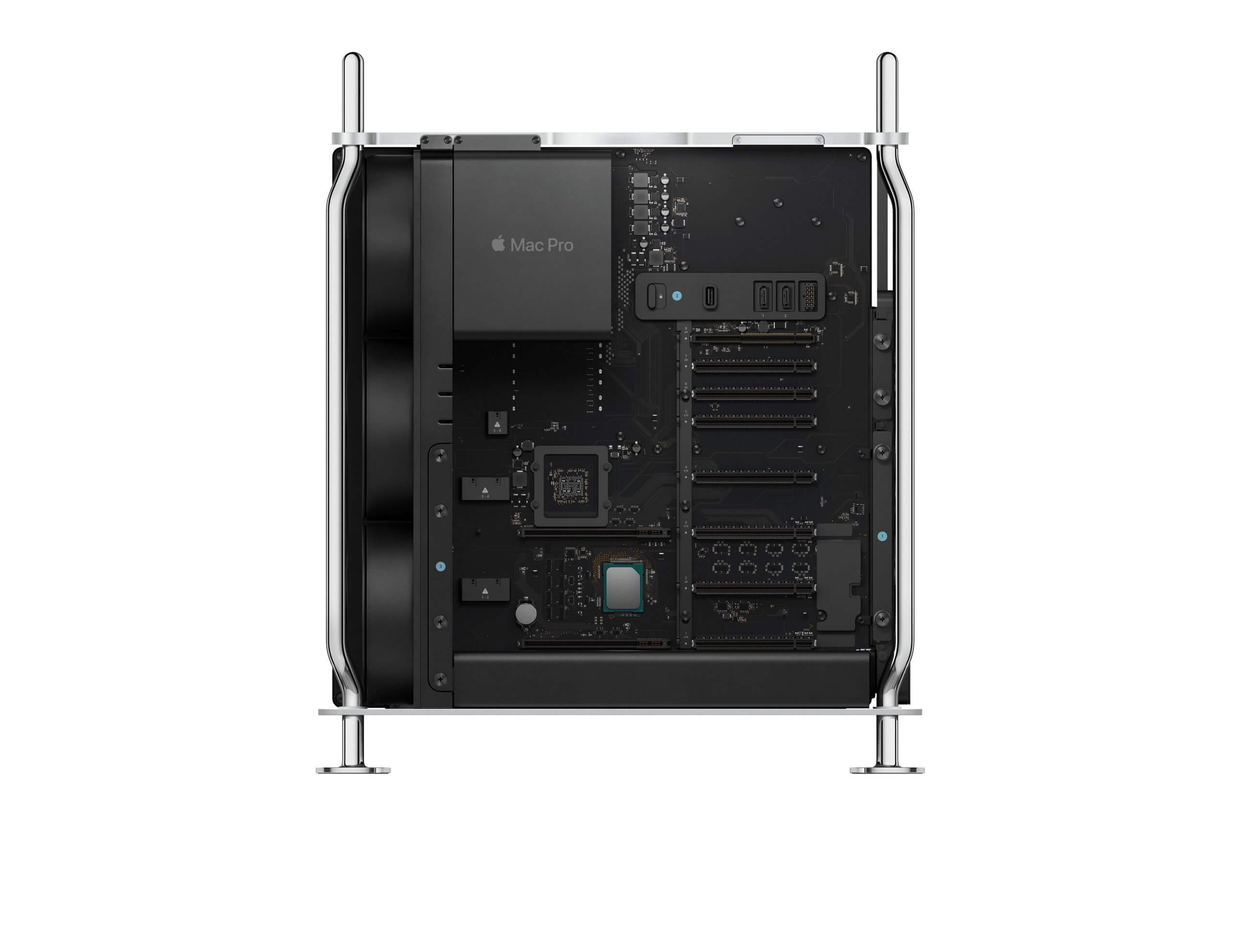 Mac Pro only half the size and with M-Series chips