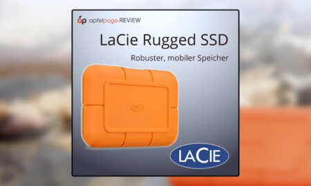 LaCie Rugged SSD put to the test: When the hard drive becomes a tank