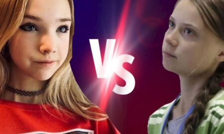 Naomi Seibt vs. Greta Thunberg