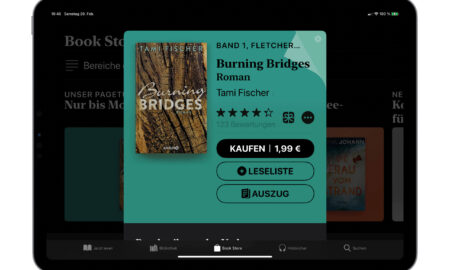 """Buy """"Burning Bridges"""" at the weekend for € 1.99"""