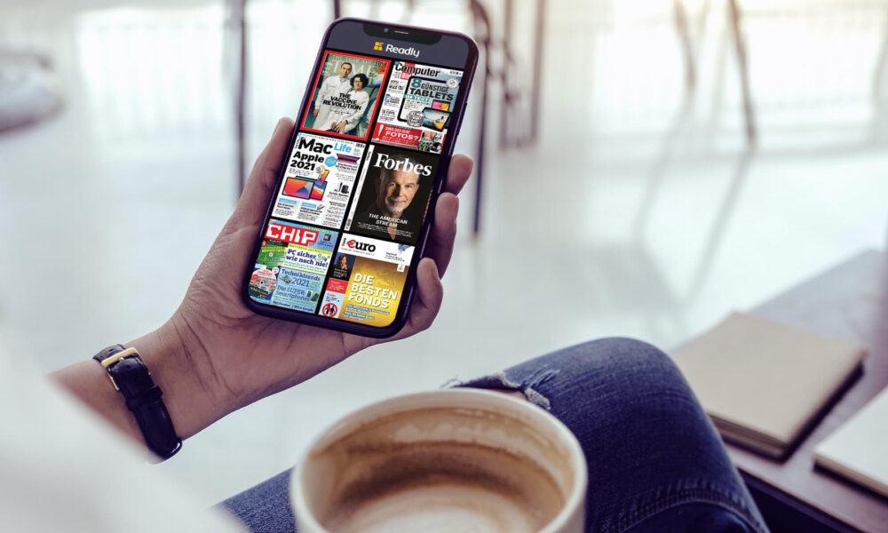"""5000 magazines / newspapers unlimited - """"Readly"""" for 1.99 instead of 19.98 euros!"""