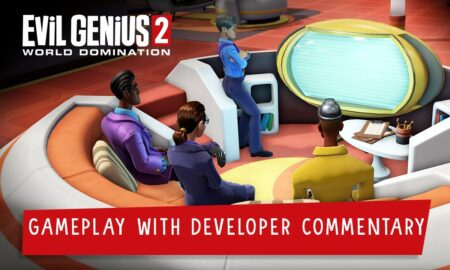 Gameplay from the upcoming Evil Genius 2