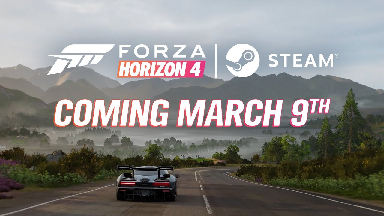 Forza Horizon 4 is coming to Steam