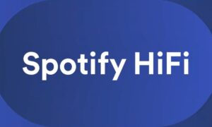 Spotify on the go with high definition audio