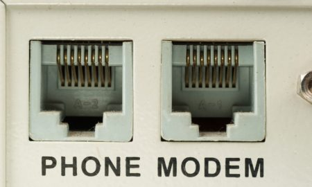 Why did the first modems sound and what did the sounds mean?